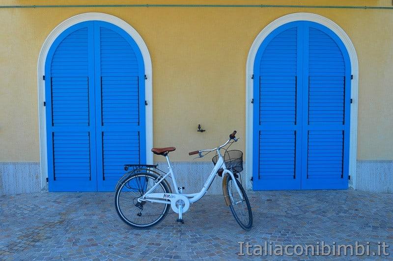 Porto Recanati- bicicletta