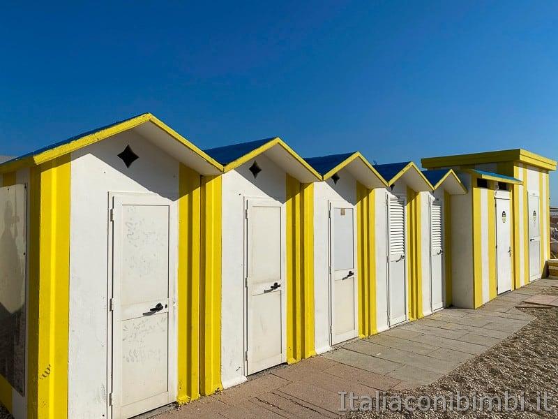 Porto Recanati- cabine