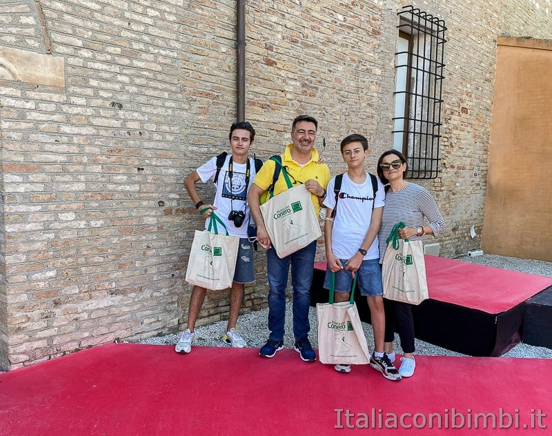 Porto Recanati- castello svevo