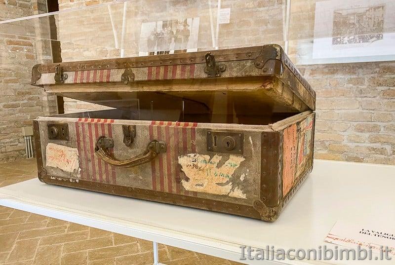 Porto Recanati- valigia di Beniamino Gigli