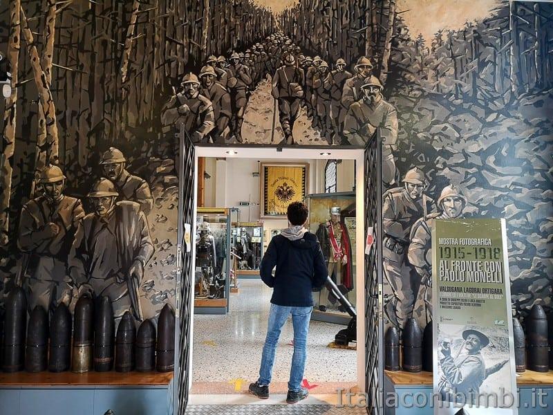 Valsugana Museo della Grande Guerra Borgo Valsugana