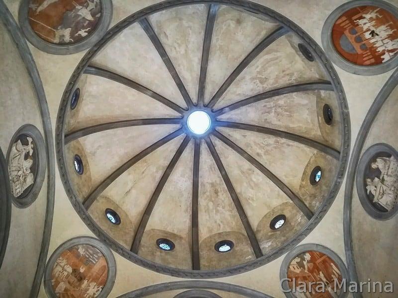 Firenze-Sagrestia-Vecchia-cupola