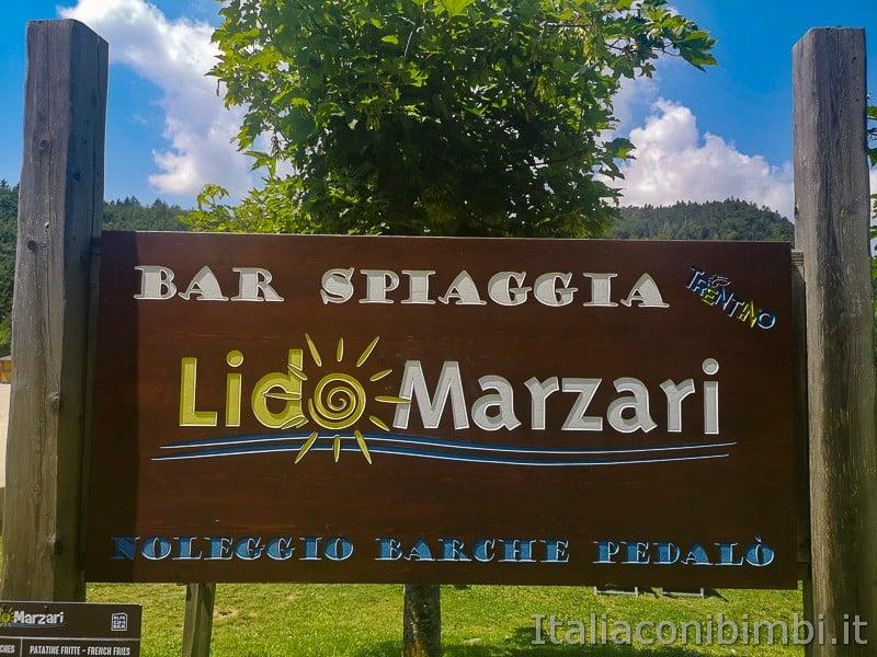 Lago di Lavarone- Lido Marzari insegna