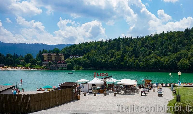 Lago di Lavarone- Lido e bar