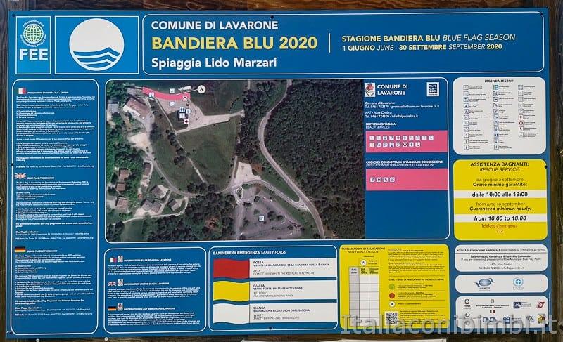 Lago di Lavarone- bandiera blu 2020