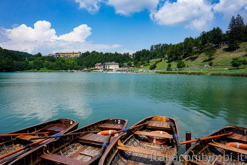Lago di Lavarone- barchette