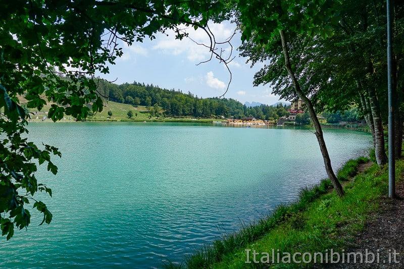 Lago di Lavarone- giro del lago