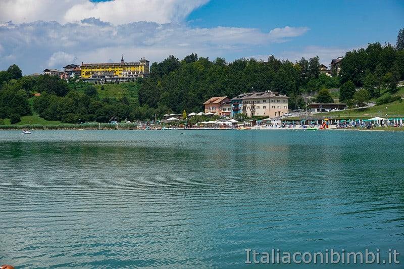 Lago di Lavarone- hotel sul lago