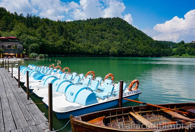 Lago di Lavarone- pattini