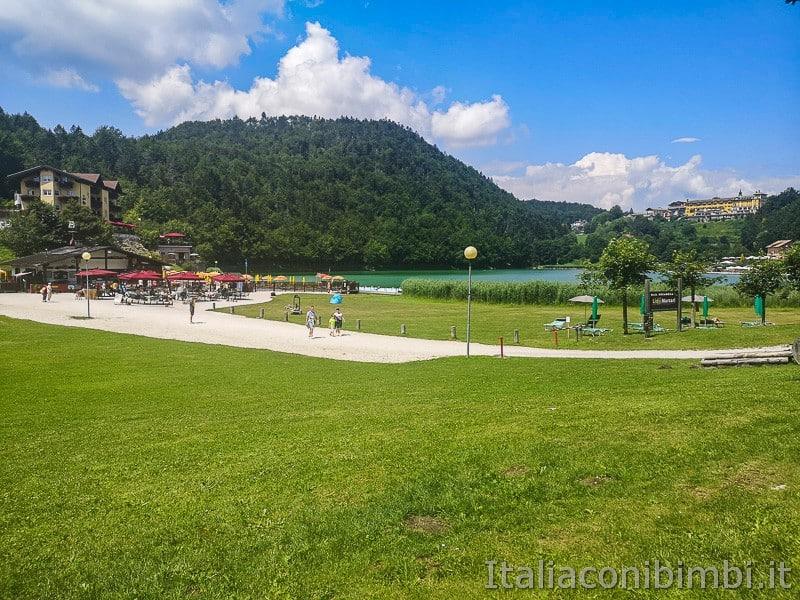 Lago di Lavarone- prato