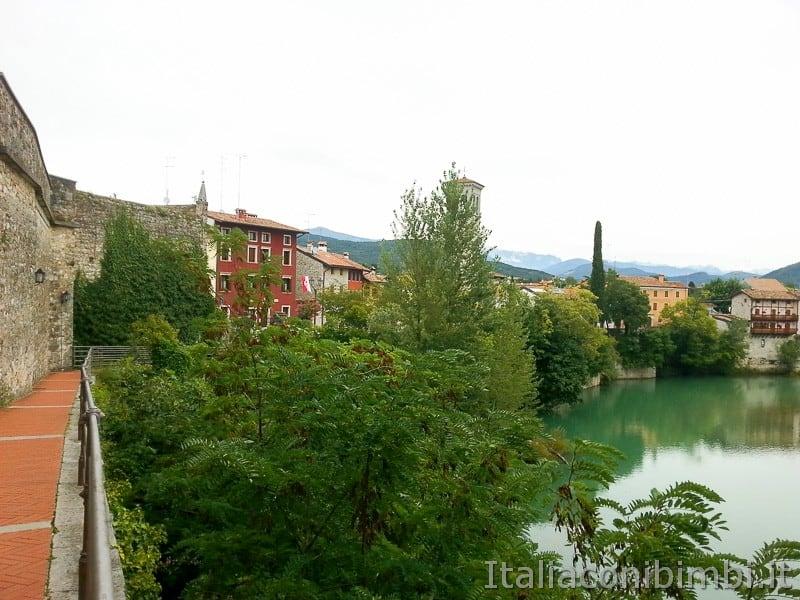 Cividale del Friuli - vista sul Natisone