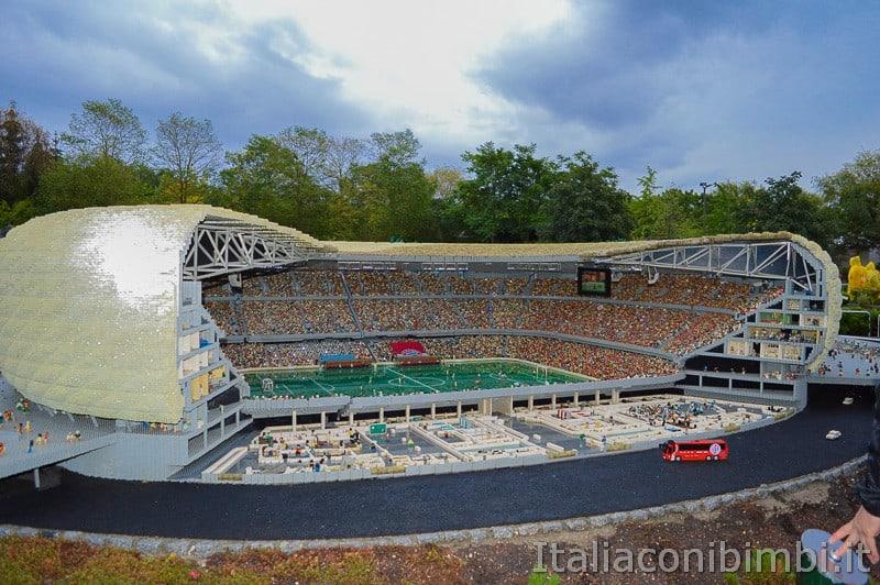 Legoland Germania- Miniland Stadio Allianz Arena