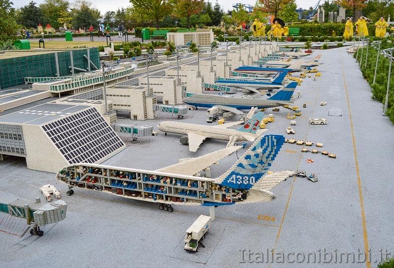 Legoland Germania- areoplan a Miniland