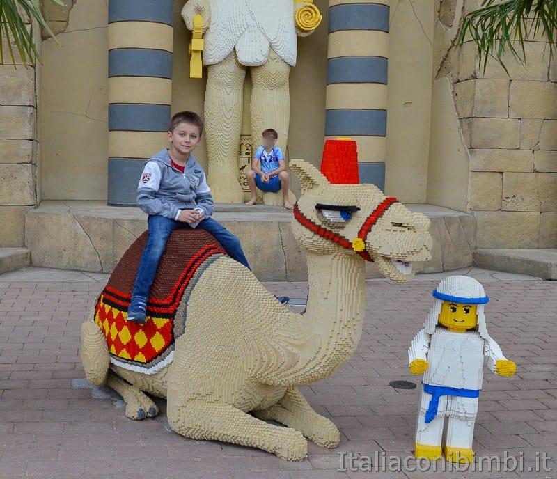 Legoland Germania- cammello di Lego