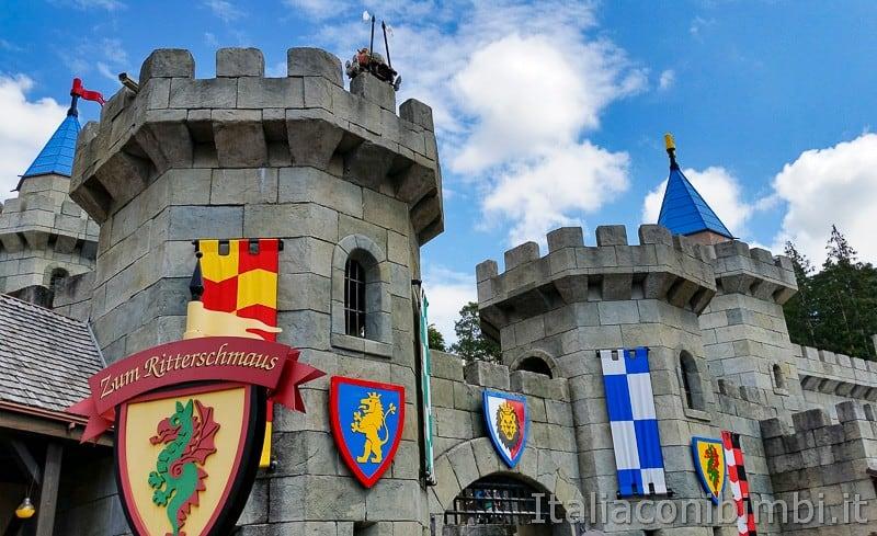 Legoland Germania- castello