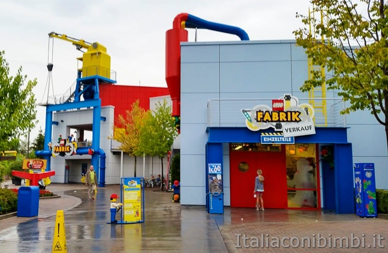 Legoland Germania- fabbrica della Lego