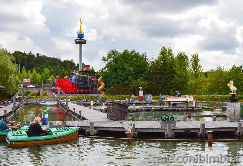 Legoland Germania- gioco acqua barchette