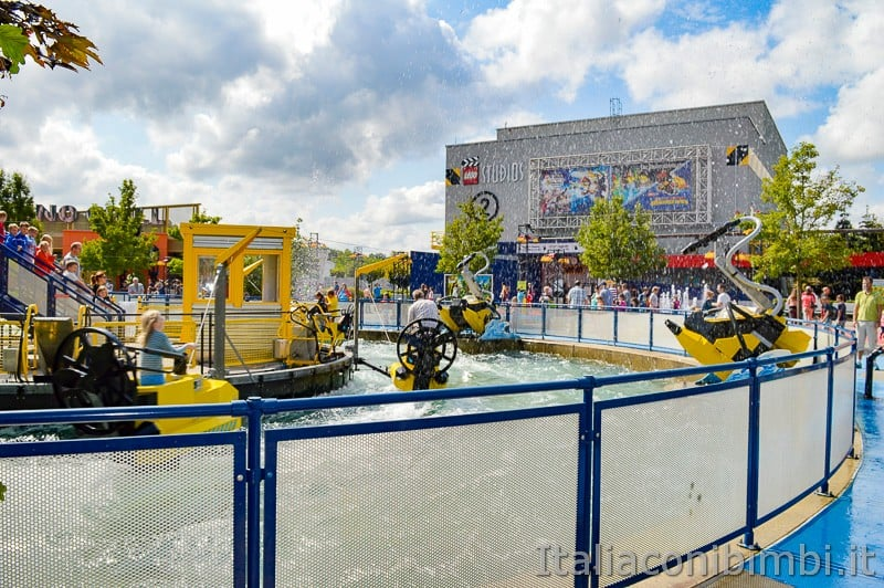 Legoland Germania- gioco acqua