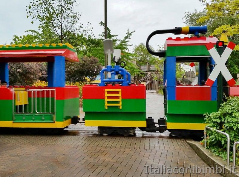 Legoland Germania- trenino