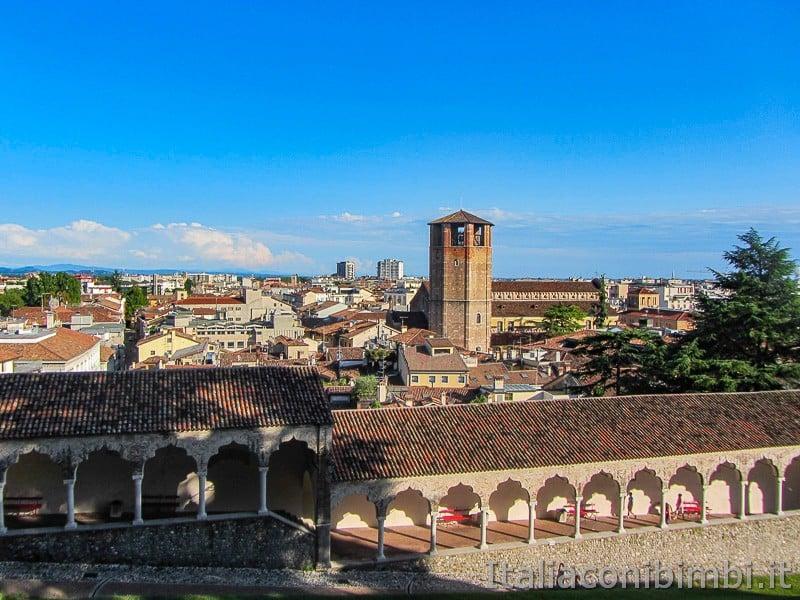 Udine vista dal castello