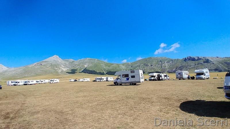 Abruzzo - Camper Fonte Vetica