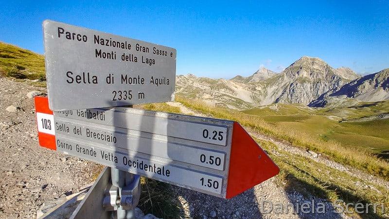 Abruzzo - Rete sentieristica Campo Imperatore