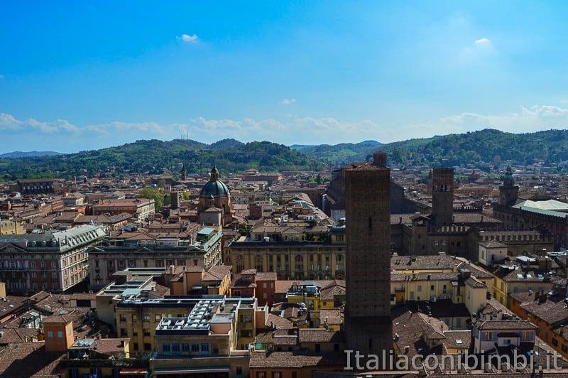 Bologna - vista dalla torre Prendiparte