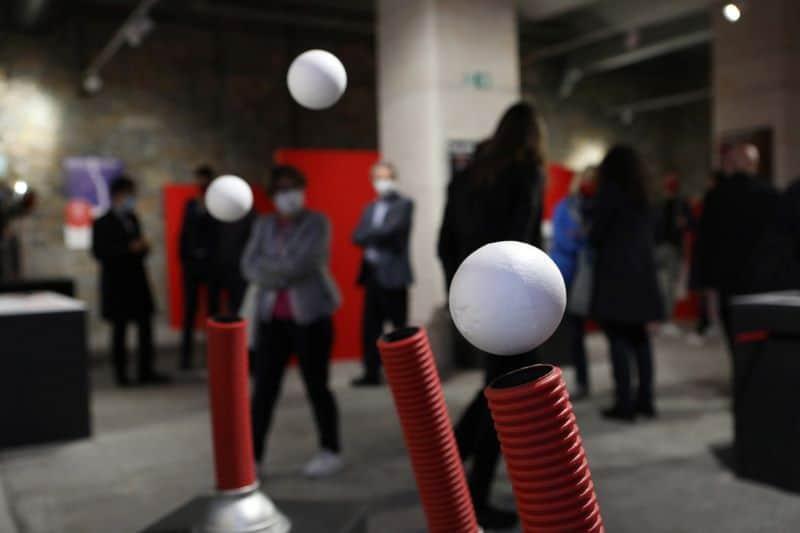 Immaginario Scientifico di Trieste -Fenomena-sfere-Massimo-Goina