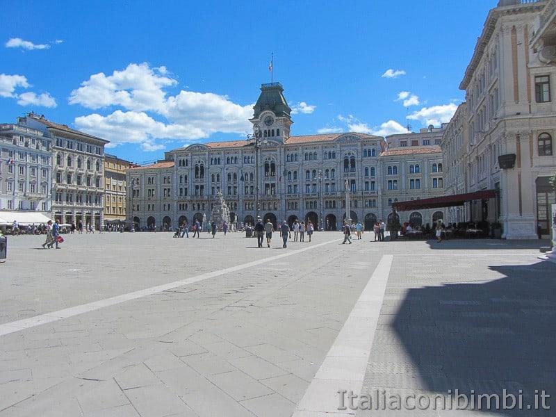 Trieste- Piazza Unita d'Italia