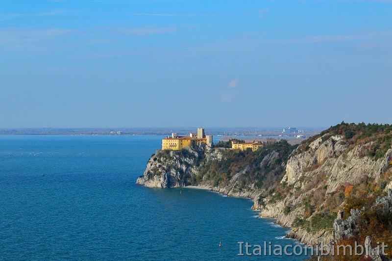 Trieste- castello di Duino