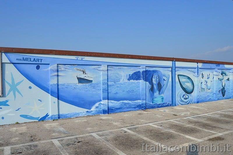 Trieste- muro dei bagni El Pedocin