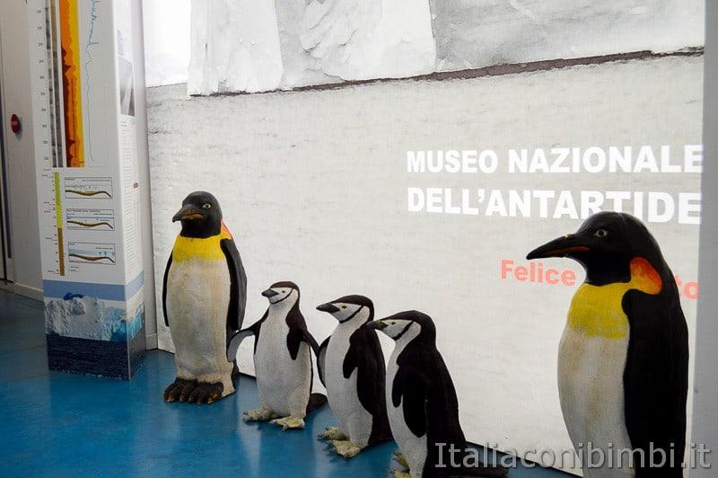Trieste- museo dell'Antartide