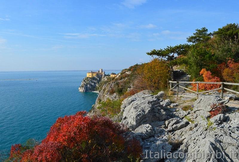 Trieste- sentiero Rilke