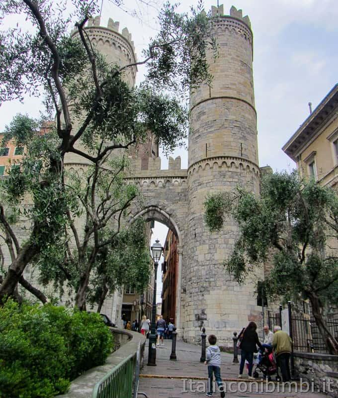 Genova - Porta Soprana Torri Sant'Andrea