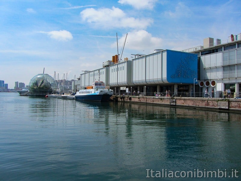 Genova - acquario e biosfera