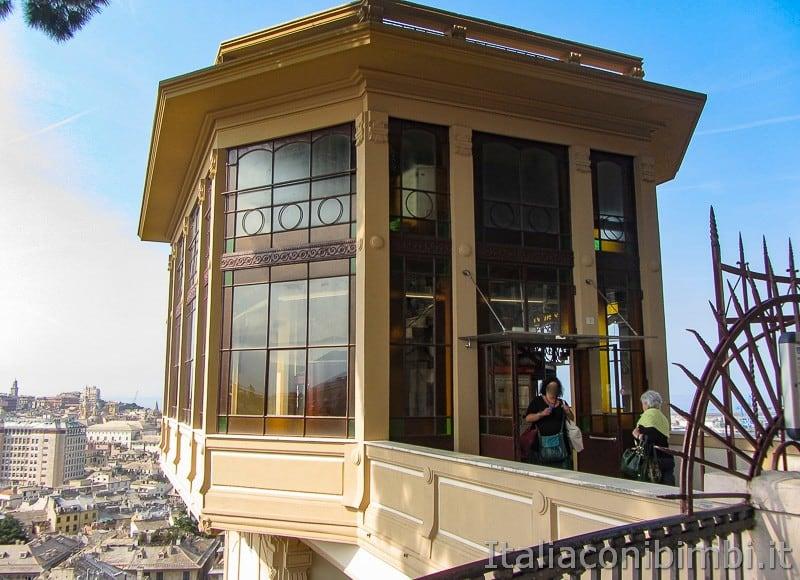 Genova - ascensore del Castelletto