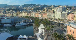 Genova - panorama dall'ascensore Bigo