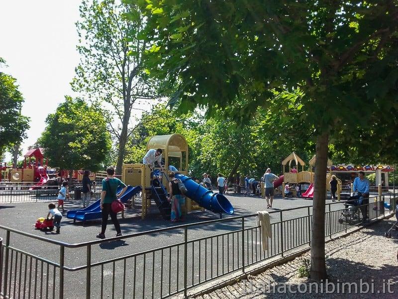 Genova - parco giochi dell'acquasola