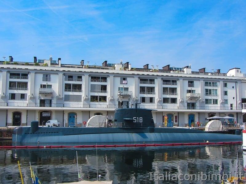 Genova - sommergibile Nazario Sauro