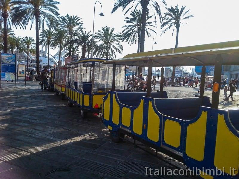 Genova - treno turistico Pippo