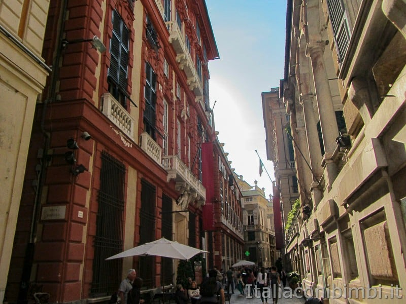 Genova - vie del centro storico
