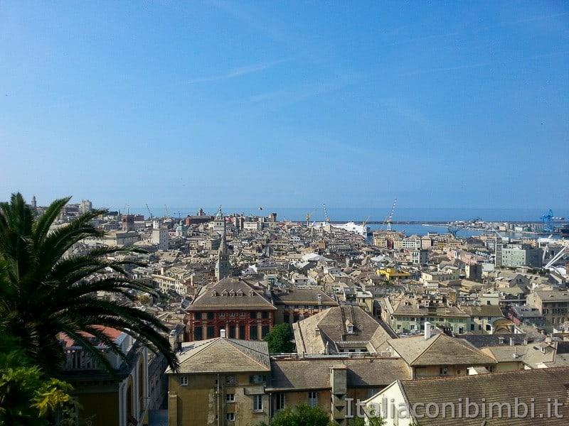 Genova - vista dall'ascensore del Castelletto