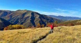 Sentiero natura di Bolognola per Fonte dell'Aquila arrivo