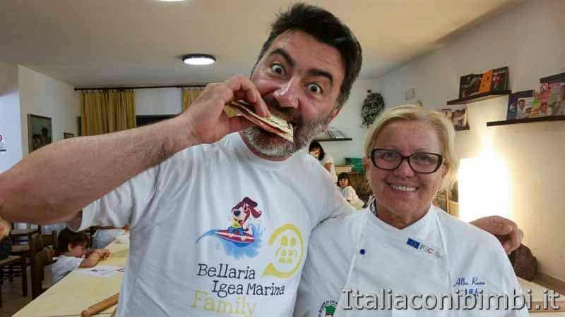 Bellaria Igea Marina - Paolo con la chef