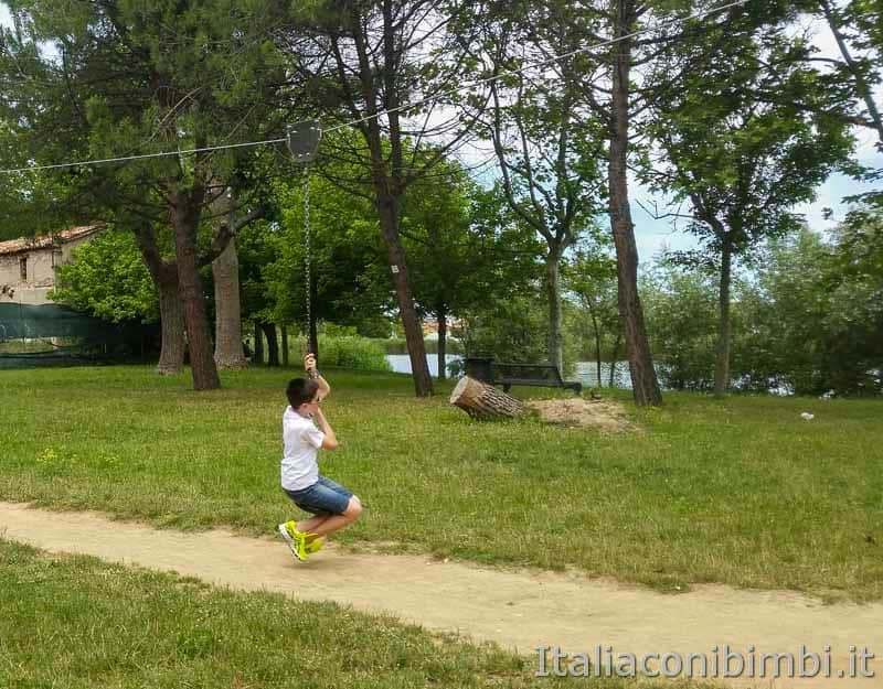 Bellaria Igea Marina - giochi al Parco del Gelso