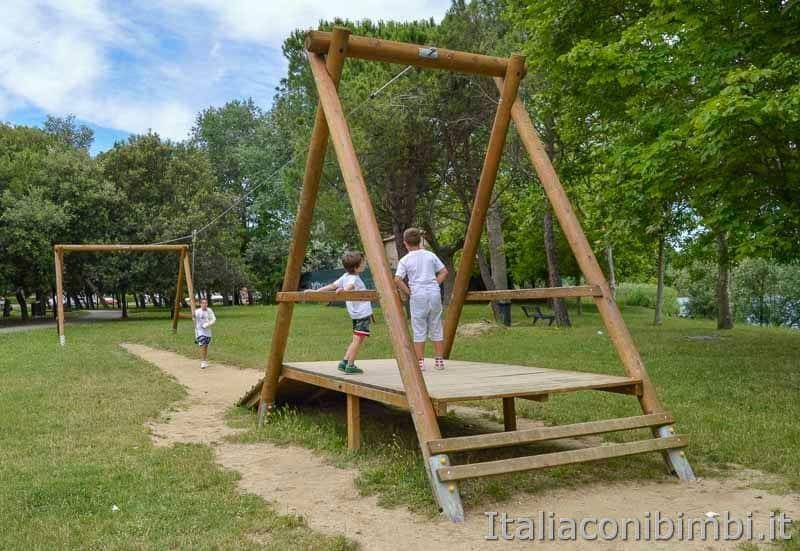Bellaria Igea Marina - parco giochi al parco del Gelso