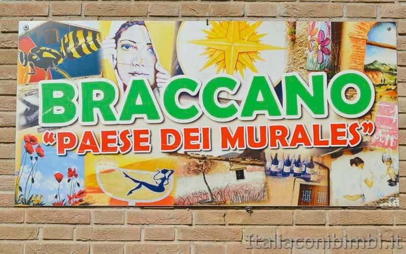 Braccano - cartello