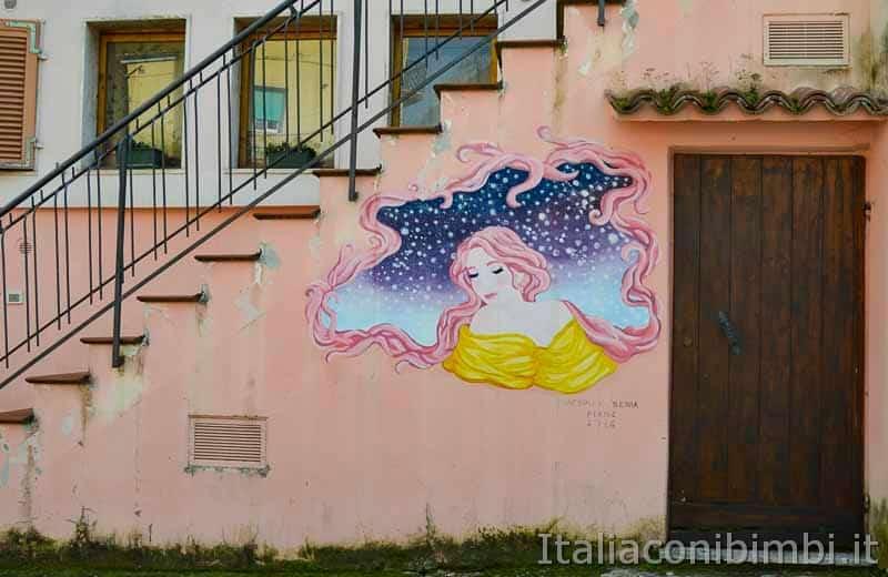 Braccano - murales fata