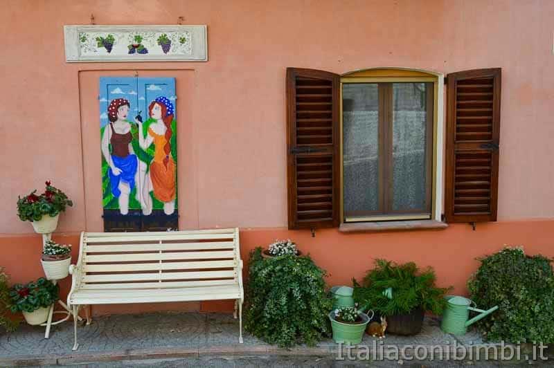 Braccano - persiana dipinta