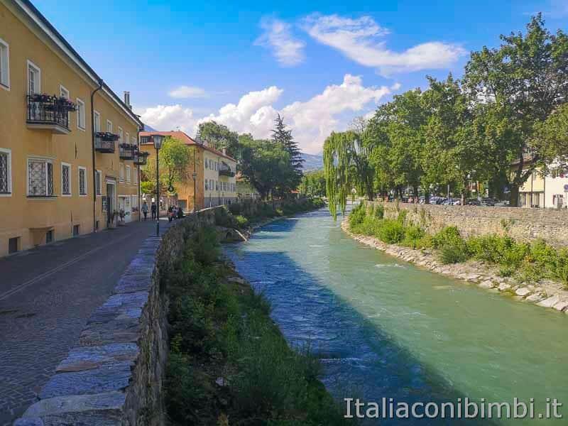 Bressanone - fiume Isarco
